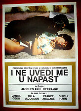 THE SERVANT 1970 FRENCH GELIN JACOBSON ANGLADE HAHN BERTRAND EXYU MOVIE POSTER