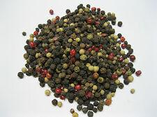 4 Colored Peppercorns-Mixed Rainbow 16 oz One Pound Atlantic Spice Company
