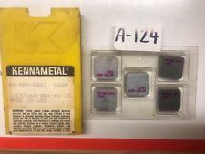 KENNAMETAL SPG 89-582-6893 K420 1LC6716A-001-01 JC (5pcs) Carbide Inserts