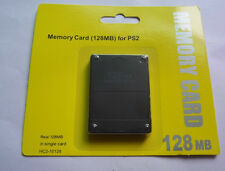 New 128MB Megabyte Memory Card Data For Sony PlayStation 2 PS2 Game Console