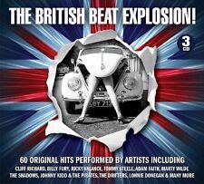 BRITISH BEAT EXPLOSION  3 CD BOX SET NEU
