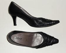 Gabor Women's 100% Leather Kitten Mid Heel (1.5-3 in.) Shoes