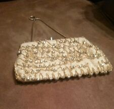 Gold evening bag disco beaded chain adored purse snake chain strap Craft Scrap