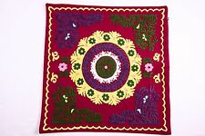 Hand Embroidered Suzani Pillow Cover - Kulob, Handmade, Fair Trade