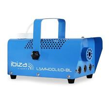 TOP IBIZA LSM400LED-BLU MINI PARTY DISCO MOBILE 400W NEBELMASCHINE MIT LED LICHT
