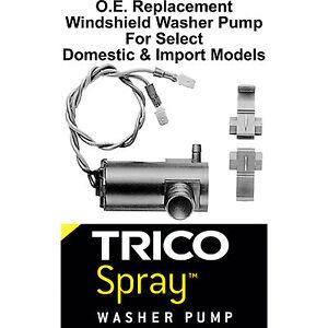 Windshield / Wiper Washer Fluid Pump (c) - Trico Spray 11-604