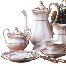 Spode Stafford Platinum Coffee Pot Made in England Fine Bone China New RARE