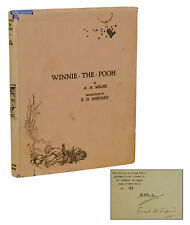 Winnie the Pooh by A. A. MILNE ~ SIGNED Limited First Edition 1926  1st Shepard