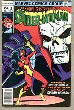 Spider-Woman #3-1978 fn- Spiderwoman Carmine Infantino