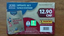 PANINI Russia 2018 WC - GOLD Edition Update Sticker Set - ALL 96 Stickers! NEW