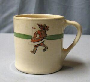 Roseville Child's Santa Mug