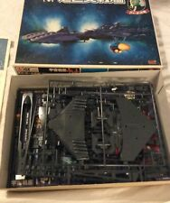 Bandai Star blazers Comet Empire Dreadnought Model Complete 36035