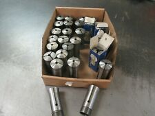 Box of 26 Used of 5-C Round Spring Collets