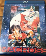 MACROSS Do You Remember Love DYRL Blu-Ray English and Spanish Edition! 1080p HD