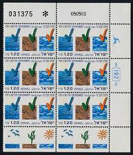 Israel 1176 right block MNH Environmental Protection