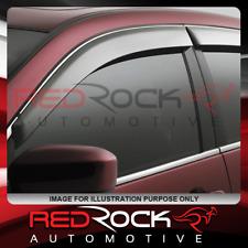 Honda Jazz GE (2008 - 2014) RedRock Door Visors / Weather Shields (4pc