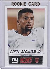 Odell Beckham Jr. 2014 Score NEW YORK GIANTS ROOKIE CARD Football RC NFL MINT