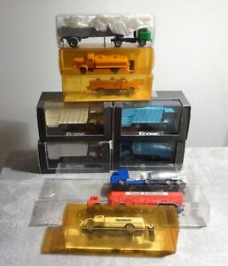 10x H0 Construction Vehicles U Garbage Truck Used Good WIKING Imu Herpa Etc