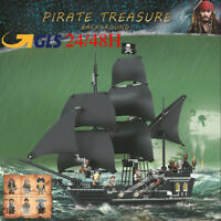 LA PERLA NERA Pirati dei caraibi the BLACK PEARL  Lego compatibile Jack Sparrow
