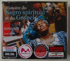 HISTORY OF NEGRO SPIRITUAL & GOSPEL / DOUBLE CD SET / FRENCH ISSUE / 2002