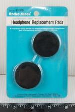 "Vtg Foam Headphone Replacement Pads Earpads 5/8"" x 1-1/2"" RadioShack NOS g50"