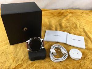 Huawei Watch GT (FTN-B19) GPS Touchscreen 46mm Smart Watch - Saddle Brown Strap