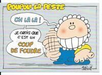 CPM - Carte postale - POUPON LA PESTE - illustrateur BINET- N° 06001