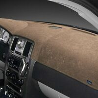 For Fiat 124 Spider 17-20 Dash Designs Brushed Suede Taupe Dash Cover
