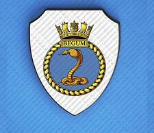 HMS BEGUM WALL SHIELD