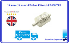 NEW 14 mm- 14 mm LPG Gas Filter, LPG FILTER replacement at every 8 to 10k miles