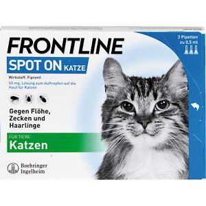 FRONTLINE Spot on Katze Pipette..., 3 St. Ampullen 662907