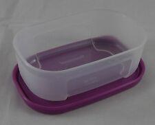 Tupperware Kühlschrank System Frische System Dose 140 ml Klar / Lila Violett Neu