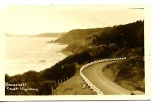 Roosevelt Pacific Coast Highway-Oregon Road-RPPC-Vintage Real Photo Postcard
