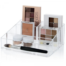 Makeup Cosmetics Palette Storage Organizer Stand Nail Polish Holder Plastic Case
