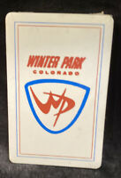 Vintage Playing Cards Deck Sealed Winter Park Colorado