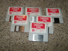 """Don Bluth's Dragon's Lair Commodore Amiga 3.5"""" floppy disks"""