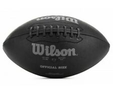 Wilson Nfl Silver Series Jet Black Football - Official Size Age 14+