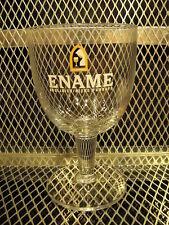 ENAME ABDIJBIER Biere D'Abbaye ~ Belgian Abbey Beer Chalice Glass G