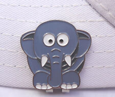 Elephant Golf Ball Marker - W/Bonus Magnetic Hat Clip - Very Cute