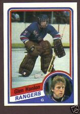 1984-85 Topps Hockey Glen Hanlon #106 NY Rangers NM/MT