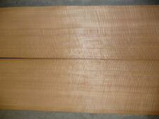 "Quarted figured  Anigre wood veneer 6.5""x35"""