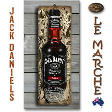 JACK DANIEL'S Vintage 3D LOOK Rustic Wooden BAR Plaque / Sign FREE POST Daniels