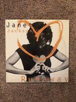 Janet Jackson Runaway Vinyl Lp Single