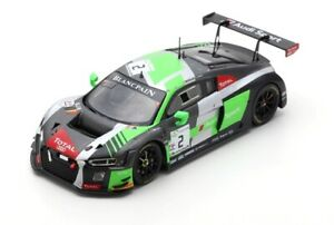 1:43 Spark Audi R8 Lms #2 8Th 24H Spa 2018 R.Rast N.Muller R.Frijns SB208 Model