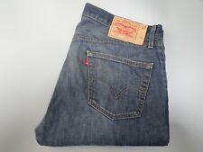 """Levis 501 Hombres Jeans Azul Pierna Recta Talla W36 L30 Cintura 36"""" pierna 30"""" Levi 501"""