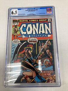 Marvel Comics Conan the Barbarian 23 CGC Graded 6.5