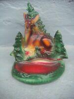 RRR RARE Antique Vintage Hand Made Hand Painted Ceramic Figurine