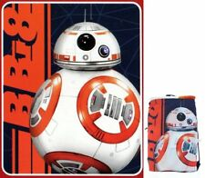 Star Wars Fast Droid BB8 Tote And Throw Blanket Fleece Throw NEW