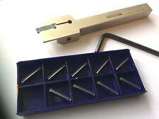 1 x Stechhalter 12x12 und 2mm Stechplatten für Stahl+VA NEU! MIT RECHNUNG!!