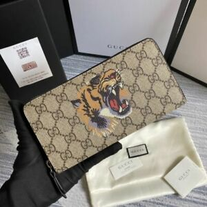 Authentic Gucci GG tiger Wallet